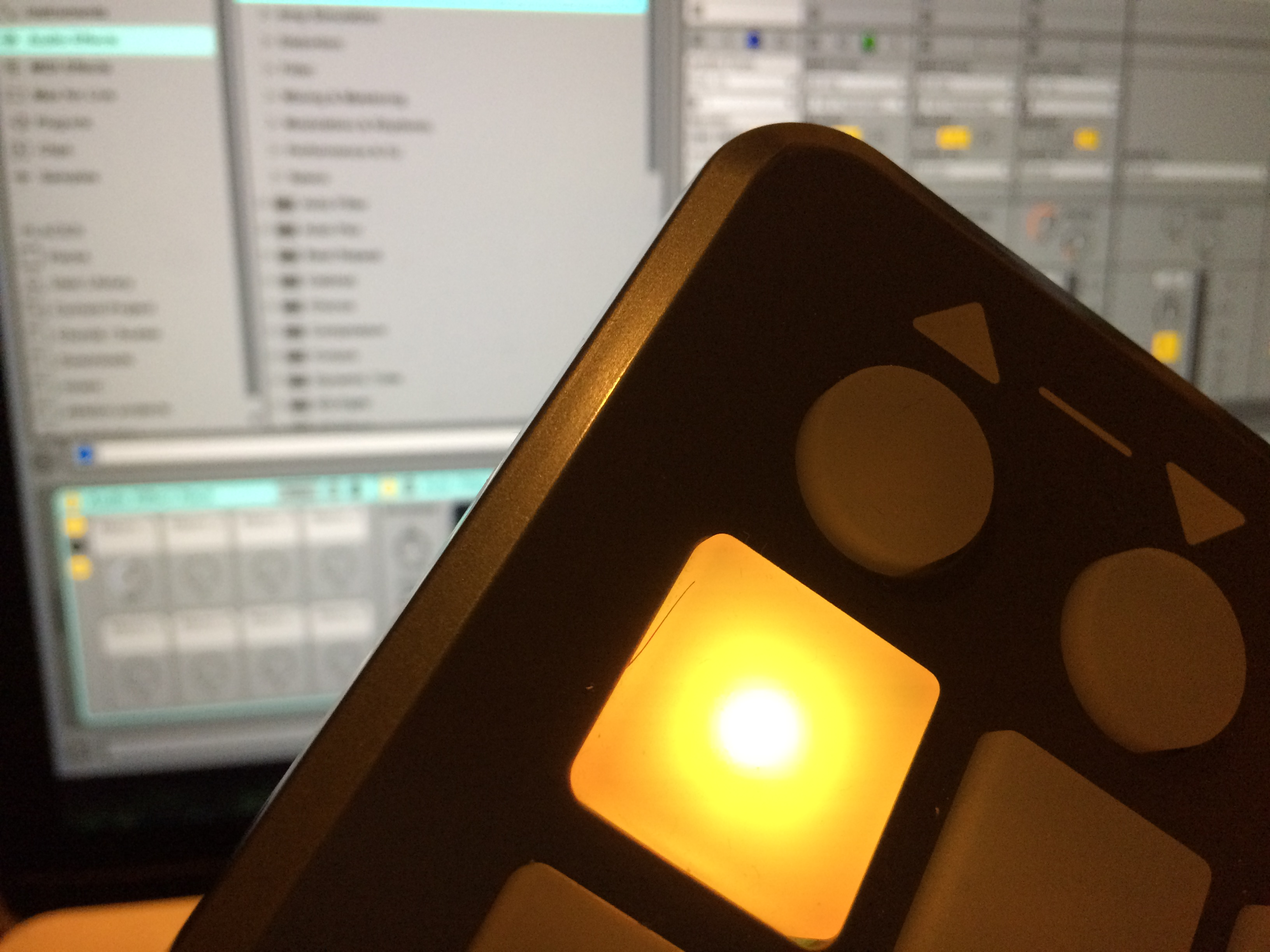 Launchpad S LED yellow with Ableton Live 9
