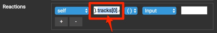 edit the track number