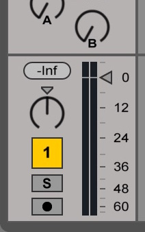 ableton volume