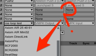 MIDI Script not showing Ableton Live's Control Surface Options