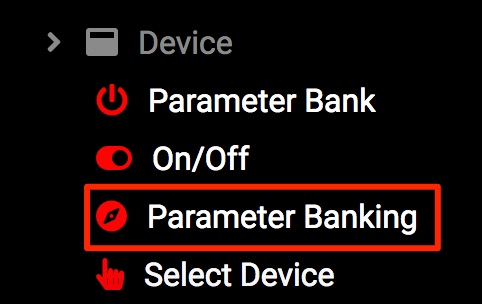 add parameter banking mapping