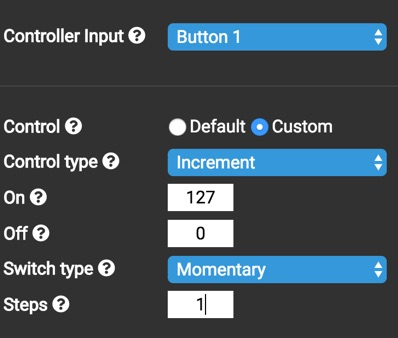 Using a Button to increment the Highlight position